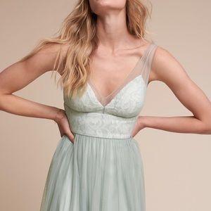 BHLDN Anthropologie Brit Bridesmaid Dress